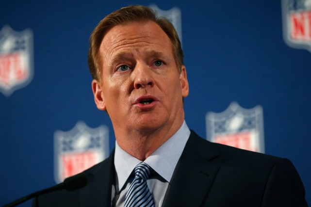 Le commissaire de la NFL, Roger Goodell.... (Photo Mike Segar, archives Reuters)