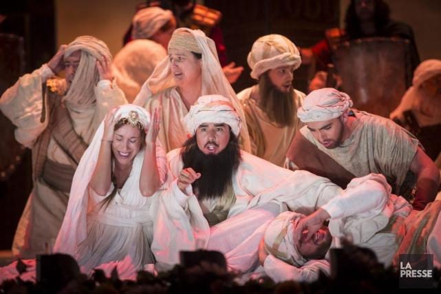 Créée en 2012 par le Washington National Opera... (PHOTO OLIVIER PONTBRIAND, LA PRESSE)