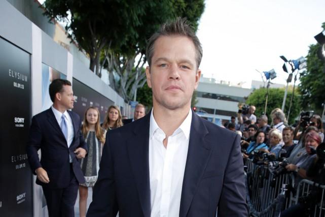 Matt Damon... (PHOTO ARCHIVES AP)