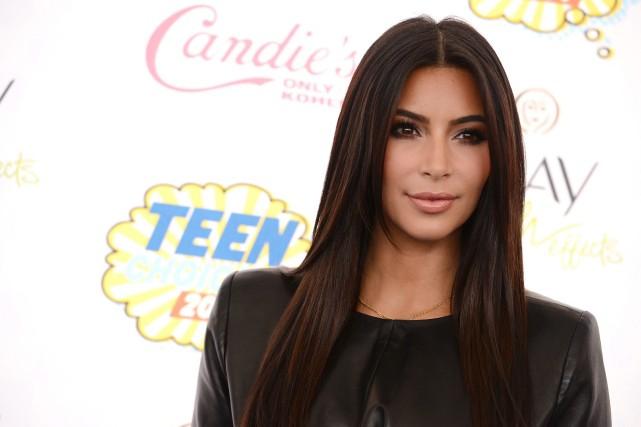 Des photos de Kim Kardashian (photo) et de... (Photo AP)