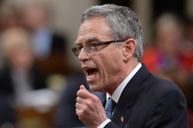 Le ministre des Finances du Canada, Joe Oliver.... (Photo Sean Kilpatrick, La Presse Canadienne)