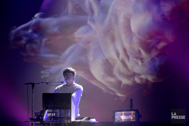 L'auditoire présent au Rialto fut immergé dans un... (Photo Bernard Brault, La Presse)
