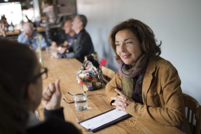 Marie-Josée Lacroix est la commissaire au design de... (PHOTO EDOUARD PLANTE-FRÉCHETTE, LA PRESSE)