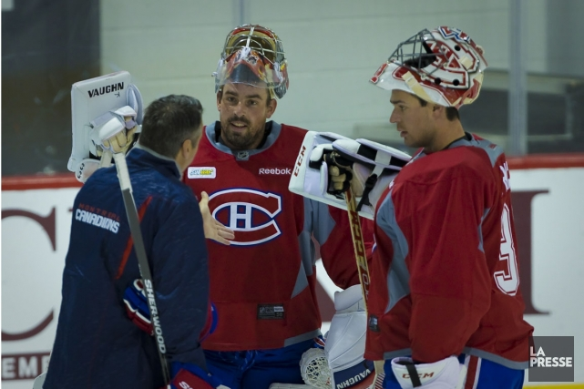 Joey MacDonald (au centre) a été discrètement embauché... (Photo André Pichette, La Presse)