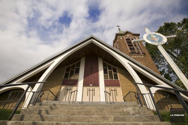 L'église Notre-Dame-de-la-Merci... (Imacom, Jocelyn Riendeau)