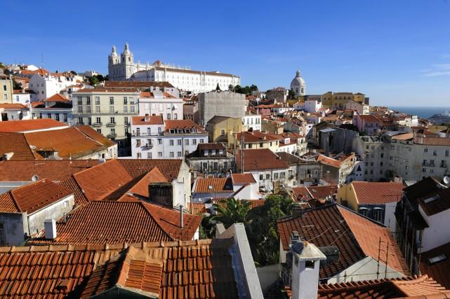 Une vue de Lisbonne par temps radieux.... (Photo d'archives)