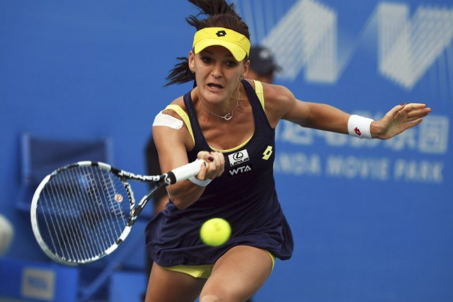 Agnieszka Radwanska... (PHOTO GREG BAKER, ARCHIVES AFP)