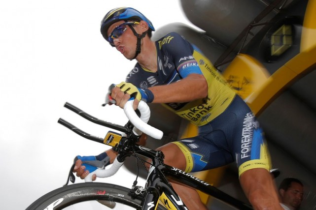 Roman Kreuziger... (Photo Christophe Ena, archives AP)