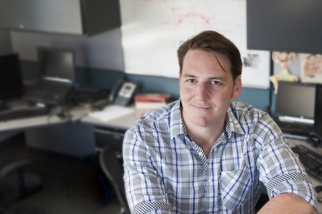 Louis-Alexandre Bergeron, 30 ans, est ingénieur logiciel chez... (PHOTO CATHERINE LEFEBVRE, COLLABORATION SPÉCIALE)