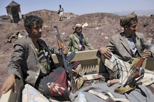 La tension demeurait toutefois vive à Sanaa où... (Photo AP)