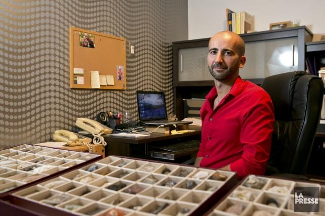Olivier Provencher, 33 ans, a fondé INGÉO experts-conseils,... (PHOTO HUGO-SÉBASTIEN AUBERT, LA PRESSE)