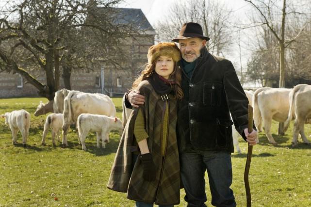 Isabelle Hubert a tourné pour la première fois... (Photo: fournie par Métropole Films)