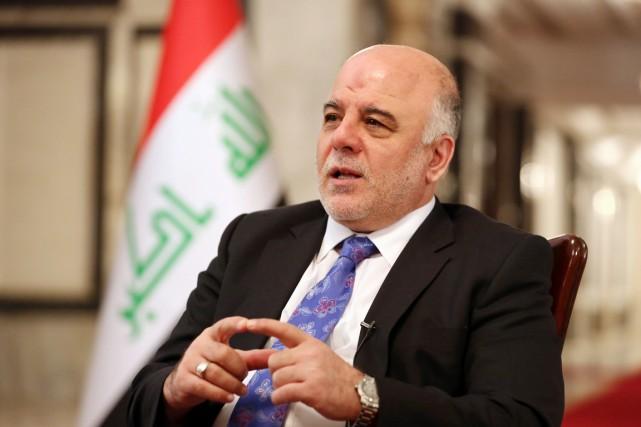Le premier ministre irakien, Haïdar al-Abadi, a répété... (PHOTO HADI MIZBAN, ARCHIVES AP)