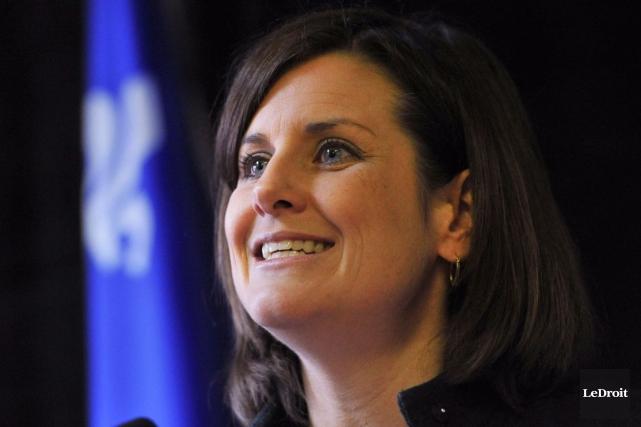 La ministre de la Justices Stéphanie Vallée.... (Martin Roy, LeDroit)