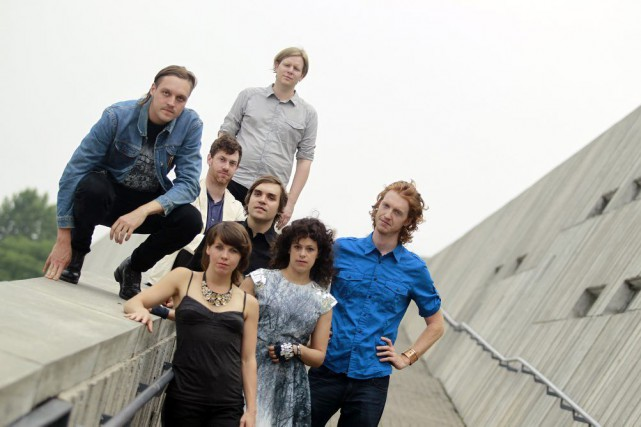 Funeral d'Arcade Fire faitt partie des nommés dans... (PHOTO ARCHIVES THE NEW YORK TIMES)
