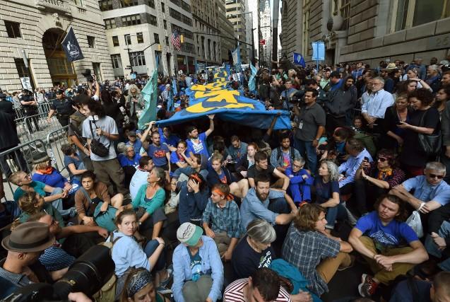Les organisateurs entendaient dénoncer «les racines de la... (Photo TIMOTHY A. CLARY, AFP)