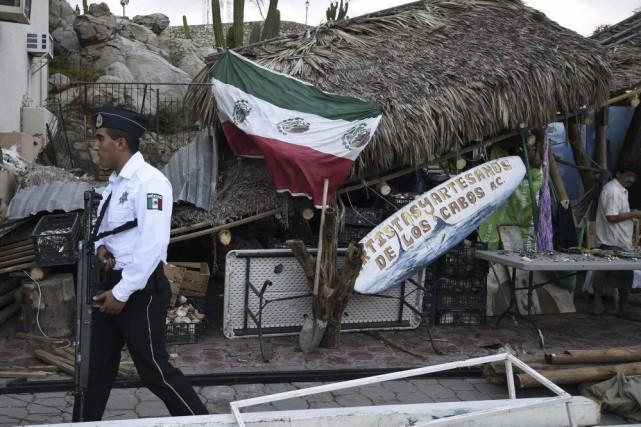 Le gouvernement fédéral a certes renforcé Los Cabos... (Photo: AFP)