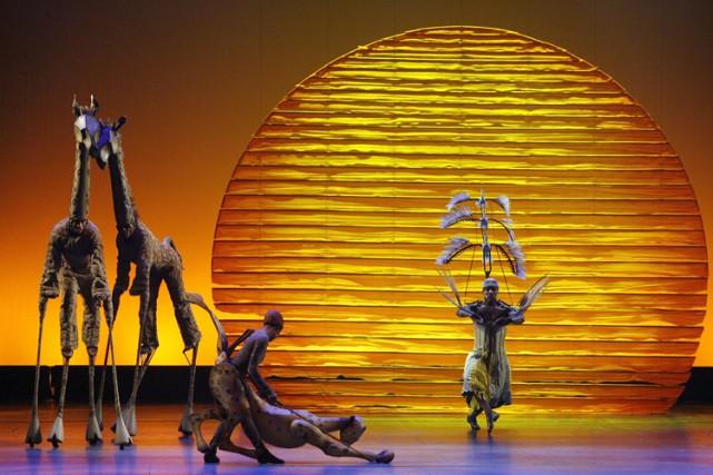Il y actuellement 10 productionsThe Lion Kingà travers... (Photo: Reuters)