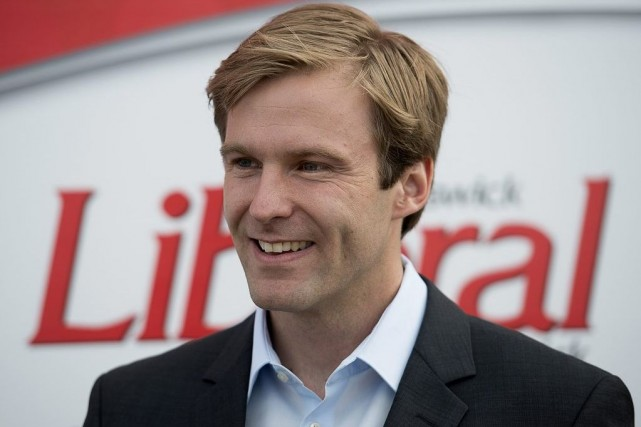 A 32 ans, Brian Gallant devient le plus... (PHOTO ANDREW VAUGHAN, LA PRESSE CANADIENNE)