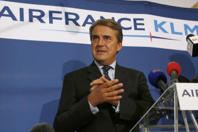 Alexandre de Juniac, PDG d'AirFrance-KLM, est catégorique: la... (Photo John Schults, Reuters)