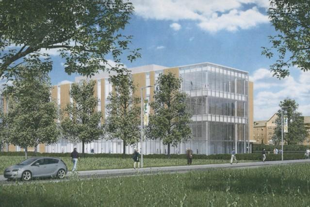 Le futur campus de l'UQTR à Drummondville....