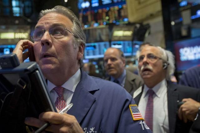Le marché peinait à regagner du terrain «se... (PHOTO BRENDAN MCDERMID, REUTERS)