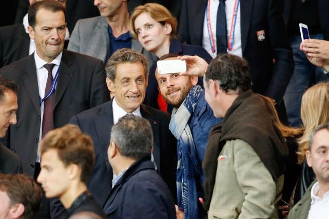 L'ex-président Nicolas Sarkozy est de retour dans la... (PHOTO THOMAS SAMSON, ARCHIVES AFP)