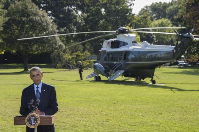 «La force de cette coalition démontre clairement au... (PHOTO JIM WATSON, AFP)