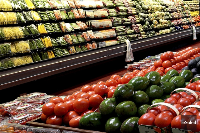 Au Canada, nous vivons dans l'abondance alimentaire.... (Photothèque Le Soleil, Patrice Laroche)