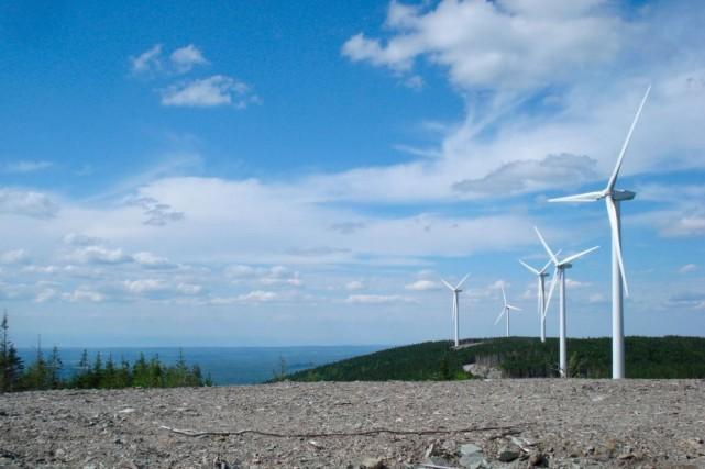 Le projet éolien du Massif du Sud dans... (Photo Eric Bernard, Collaboration spéciale)