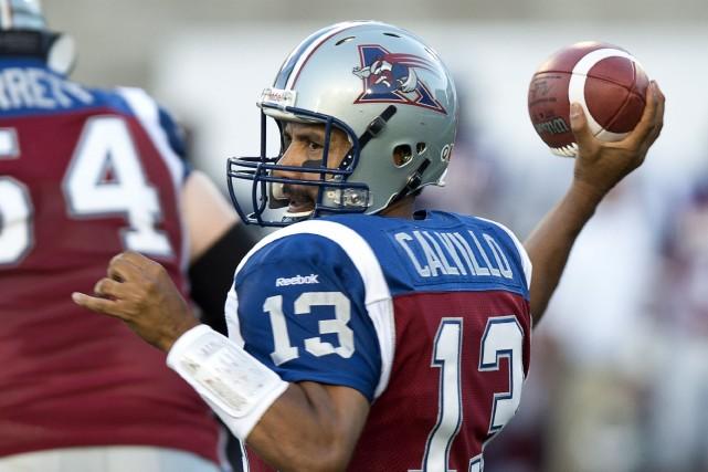Anthony Calvillo en juillet 2013.... (Photo Paul Chiasson, archives La Presse Canadienne)