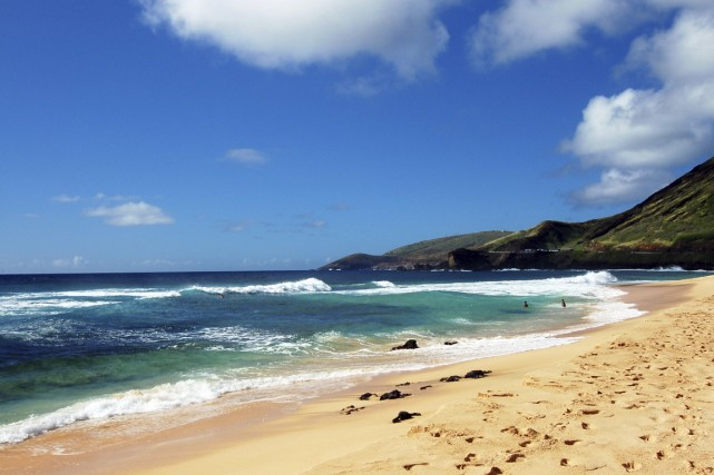 Sandy Beach à Honolulu.... (Photo Digital/Thinkstock)