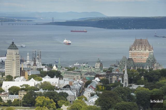 La Ville de Québec souligne le fait que... (Photothèque Le Soleil, Pascal Ratthé)