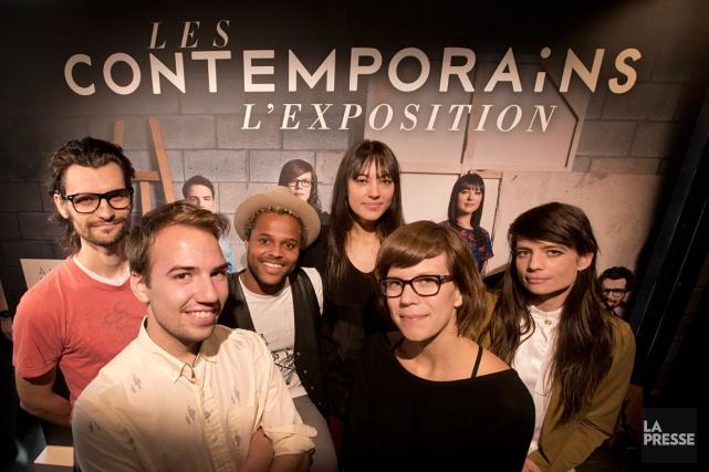 Six artistes visuels de la relève participent à... (PHOTO: IVANOH DEMERS, LA PRESSE)