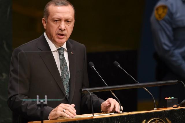 Le président turc Recep Tayyip Erdogan.... (PHOTO DON EMMERT, AFP)