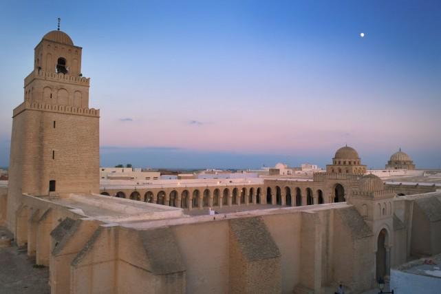 Grande Mosquée de Kairouan, en Tunisie... (Photos.com)