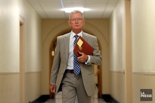 Le sénateur conservateur Pierre-Hugues Boisvenu... (Photo Sean Kilpatrick, PC)