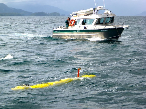Grâce à un sous-marin téléguidé, des chercheurs de... (Photo PC)