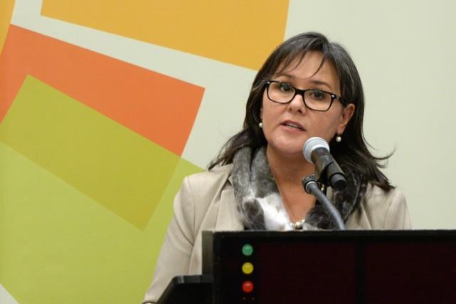 La ministre canadienne de l'Environnement, Leona Aglukkaq, a... (Photo: PC)