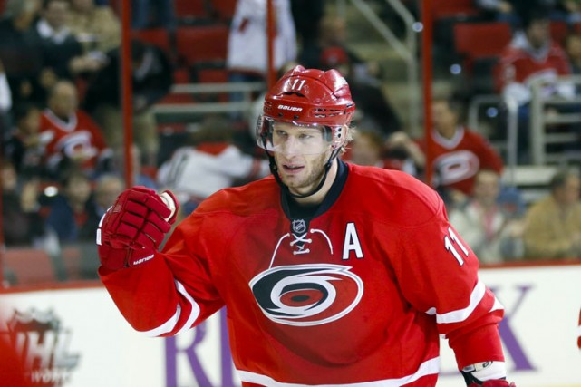 Jordan Staal... (Archives Reuters)