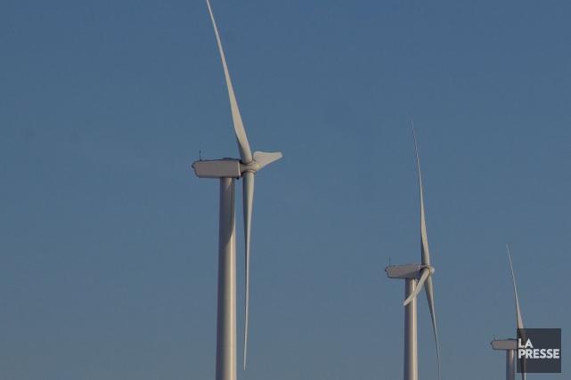 Deux projets éoliens sont actuellement proposés dans l'Est... (Archives La Presse)