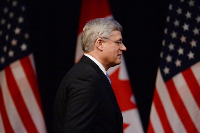 Harper a indiqué qu'il devrait d'abord en discuter... (Photo Sean Kilpatrick, PC)