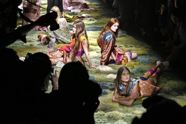 La palette est inspirée du tableau Ophélie de... (Photo Charles Platiau, Reuters)