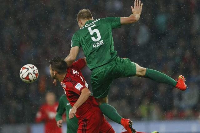 Leverkusen a renoué avec la victoire mercredi contre Augsbourg (1-0) pour... (Photo: Reuters)