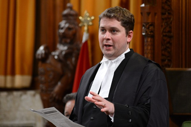 Andrew Scheer, président de la Chambre... (Photo Sean Kilpatrick, Archives PC)