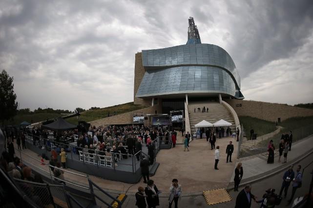 Musée canadien pour les droits de la personne... (PHOTO ARCHIVES LA PRESSE CANADIENNE)