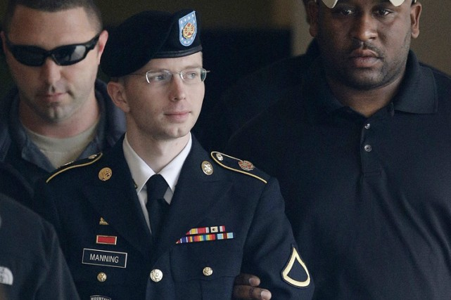 En avril, Bradley Manningavait reçu l'aval d'un juge... (Archives AP)