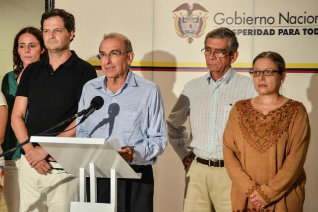 «Chaque Colombien pourra désormais constater ce que nous... (Photo: AFP)