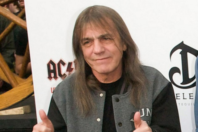 Malcolm Young... (PHOTO ARCHIVES AGENCE FRANCE-PRESSE)