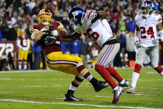 Un affrontement entre les Giants et les Redskins... (Archives Reuters)